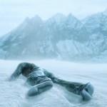 Uncharted 2 - Drake sover i snön