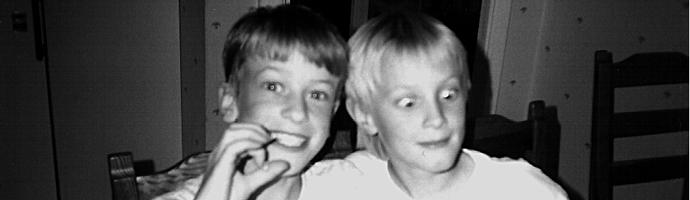 Erik och Niklas, 1994.