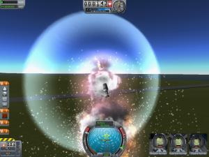 En vanlig syn när jag är chef över rymdprogrammet