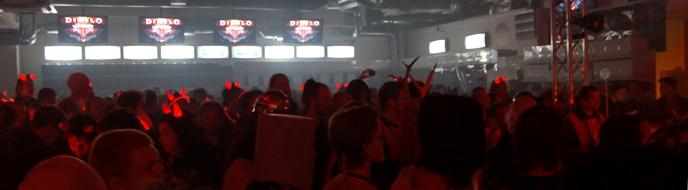 Diablo 3-releasen på Webhallen i Stockholm