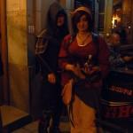 Två cosplayare från gruppen Incognito.