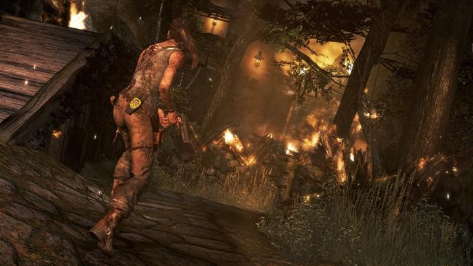 Lara möter många utmaningar på ön.