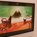 Elin Hamberg har målat en fantastisk Journey-tavla