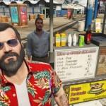 Miguel säljer de bästa korvarna i hela Los Santos!