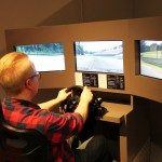 Gran Turismo samt Peter som inte har körkort = Väggrensrally